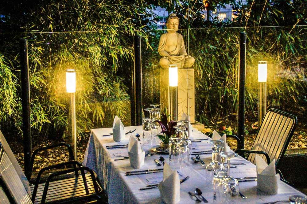 The guest garden